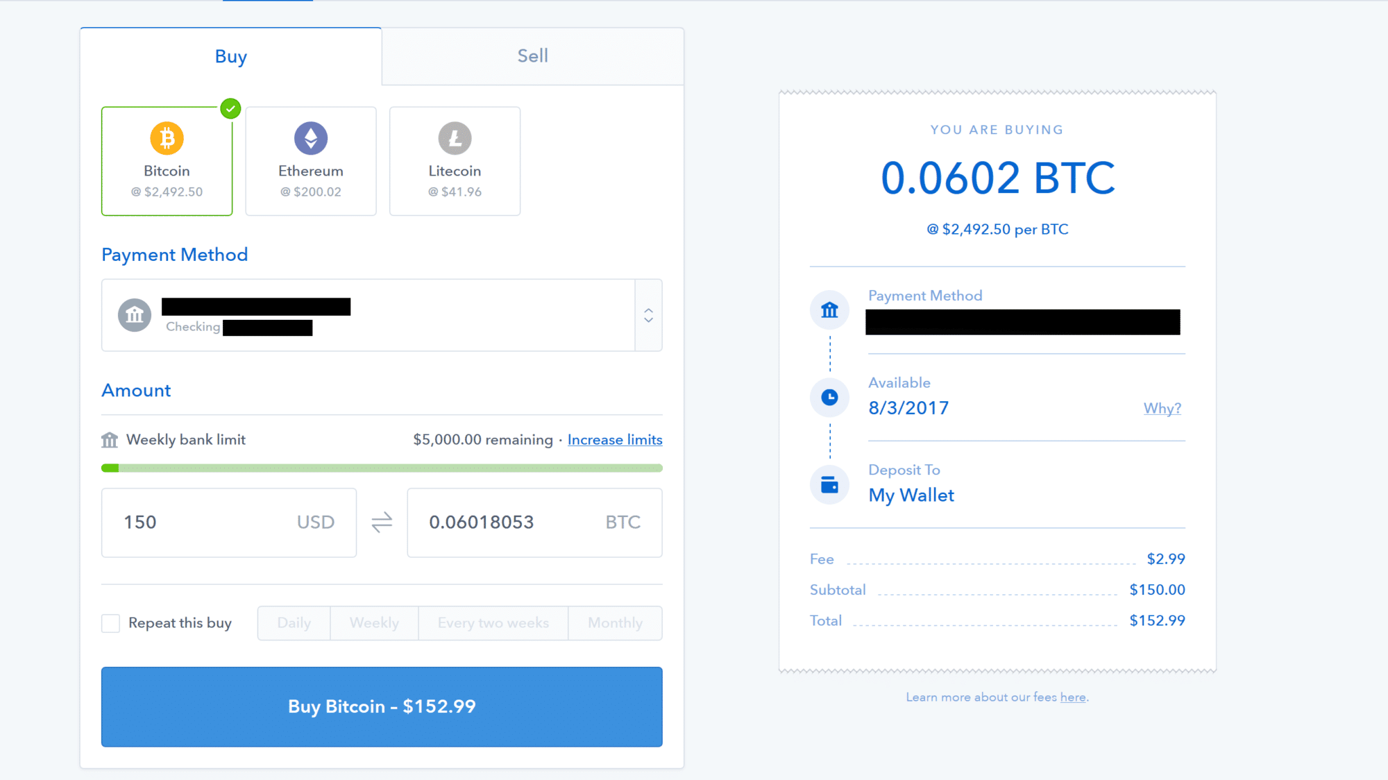 Coinbase Review of Platform