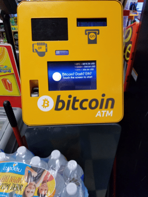 My Experience Using A Bitcoin Atm