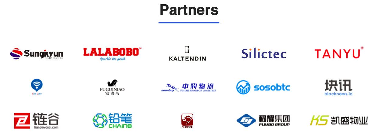 Waltonchain partners