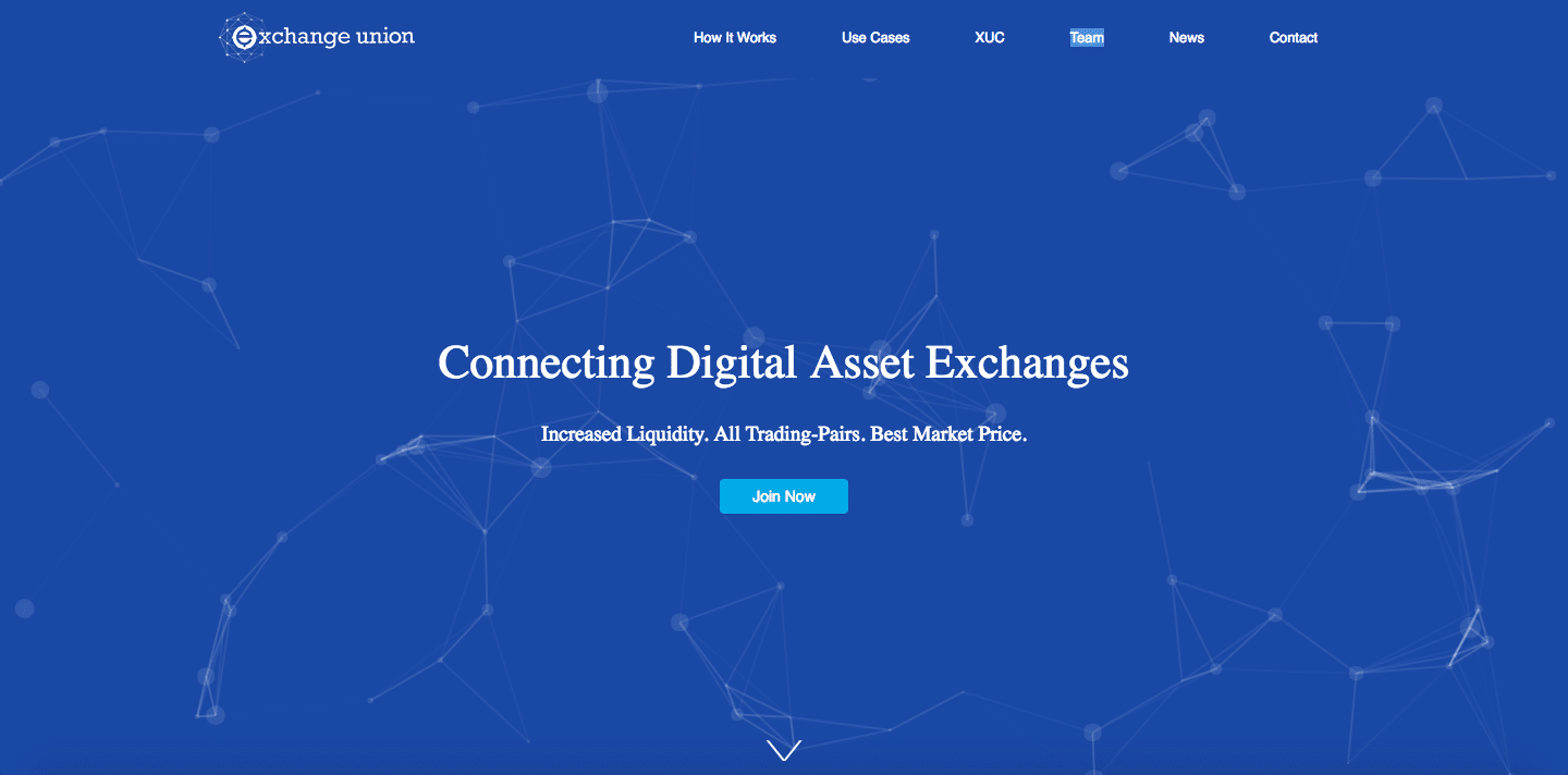 exchange union homepage
