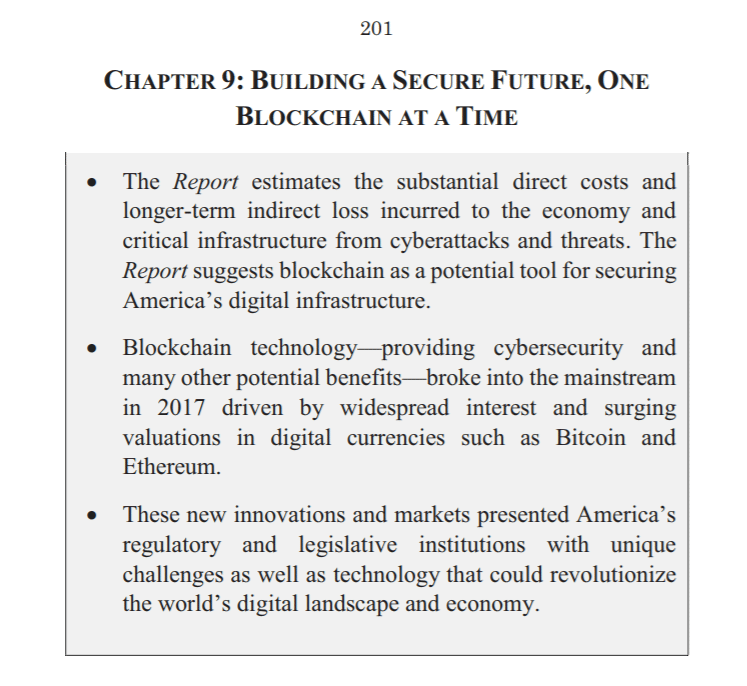 Congressional Report Bitcoin