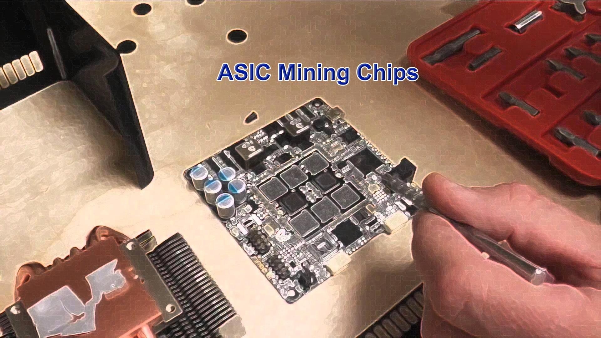 how to make an asic mining rig