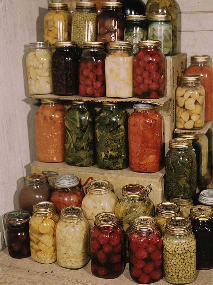 Food safety, preserved food image