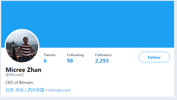 Micree Zhan Twitter
