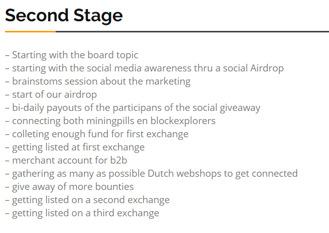 Photo of the Dutch Coin Roadmap
