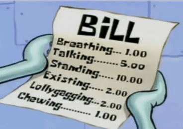 Bill with crypto