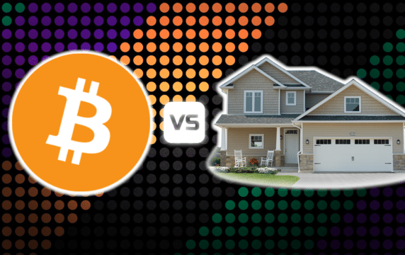 bitcoin vs real estate