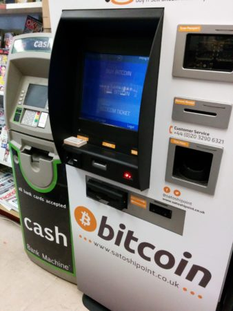photo of a Bitcoin ATM