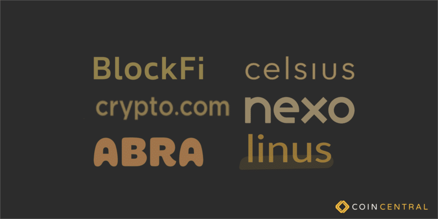 Best cryptocurrency interest account header image